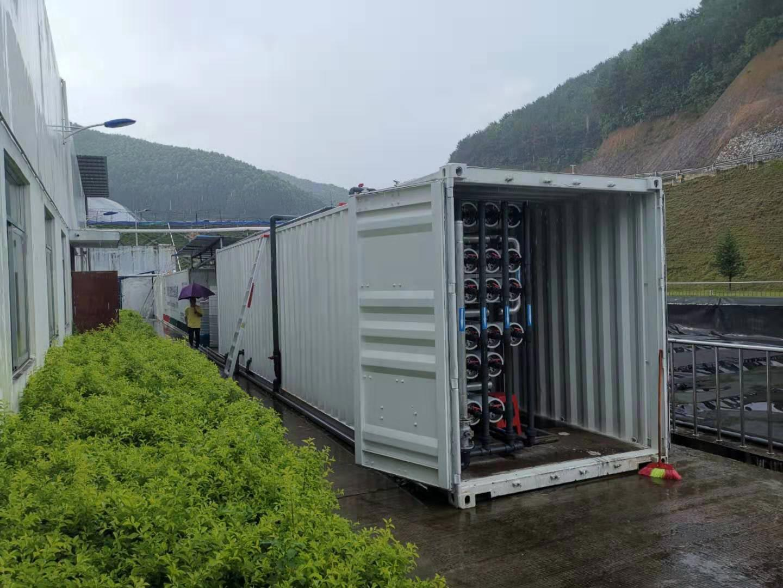 广东省潮州市锡岗生活垃圾填埋场渗滤液处理案例实景