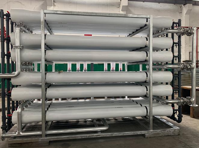 膜技术对垃圾渗滤液处理的研究(1)