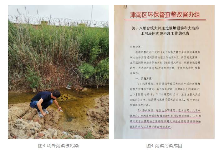 场外沟渠被污染,沟渠污染成因