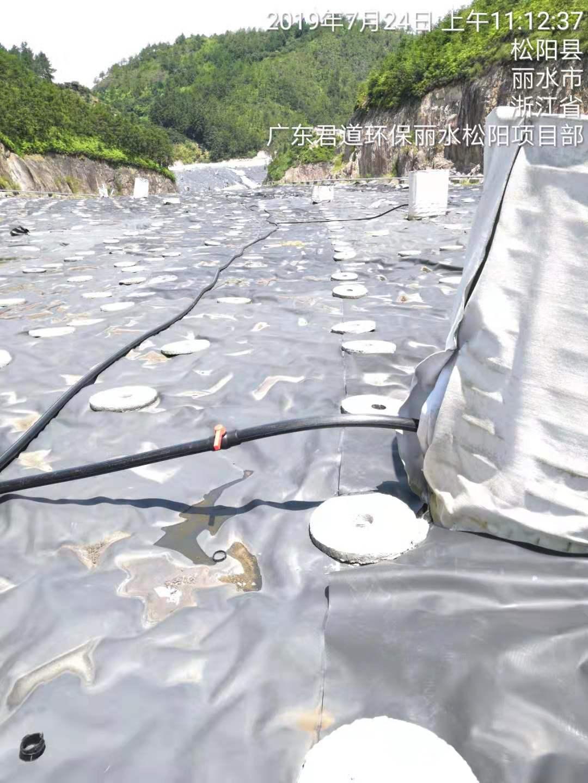 浙江省丽水市松阳县垃圾渗滤液处理案例实景