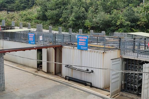 贵州省遵义市播州区项目渗滤液处理案例实景现场